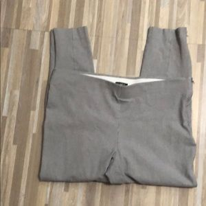 Loft legging with zippers at waist and ankles
